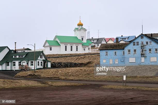 St Paul Island Russian Orthodox Church In Old Town