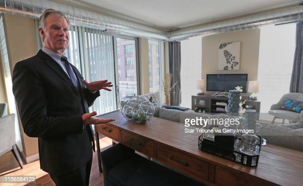 St Paul Mayor Chris Coleman took a tour of a two bedroom apartment at the Penfield apartments in downtown St Paul on 2/6/14 After 10 years of...
