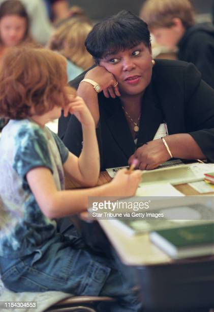 St Paul MN 9/28/99 St Paul Superintendent Dr Patricia Harvey will soon celebrate her six month anniversary in the St Paul school district a period in...