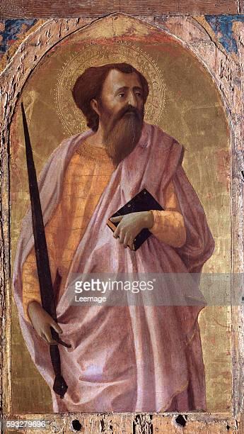 St Paul Painting by Masaccio 1426 Dim 51x30 cm Pisa Museo Nazionale di San Matteo