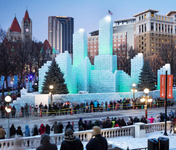 St. Paul Winter Carnival Ice Palace 2018