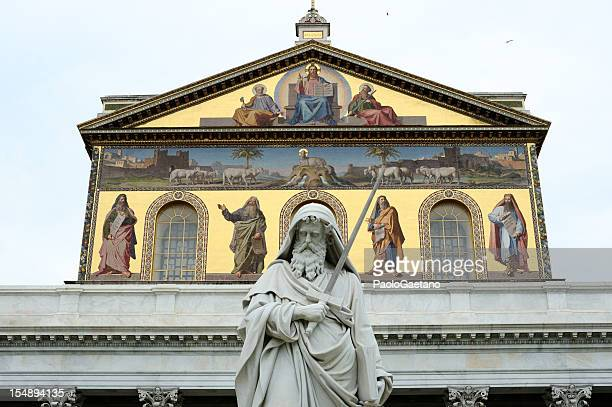 st paul's basilica - basilica stock pictures, royalty-free photos & images