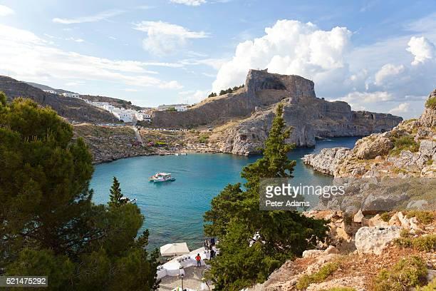 St. Pauls beach, Lindos, Rhodes, Dodecanese Greece