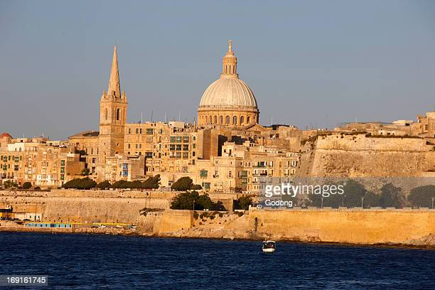 St. Pauls Cathedral and Carmelite Church in Valletta
