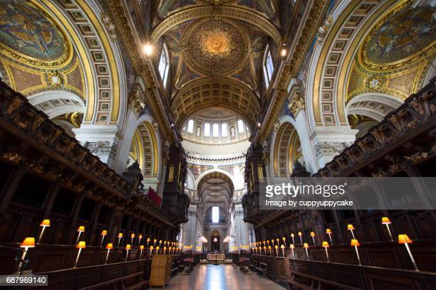 st paul's cathedral church in london - st. paul's cathedral london stock pictures, royalty-free photos & images