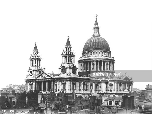 St Paul's Cathedral City of London The cathedral was designed by Sir Christopher Wren after the previous cathedral was destroyed in the Great Fire of...