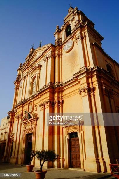 St Paul's Cathedral, Close Up, Mdina, Malta