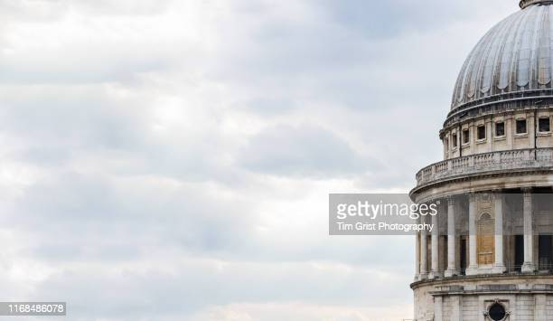 st paul's cathedral dome, ludgate hill, london - social history stock pictures, royalty-free photos & images