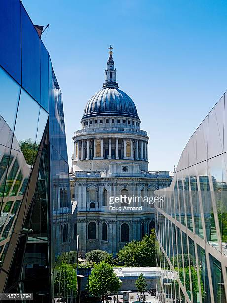 St Paul's Cathedral from One, New Change, London