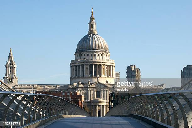St Paul's Cathedral, London, copy space