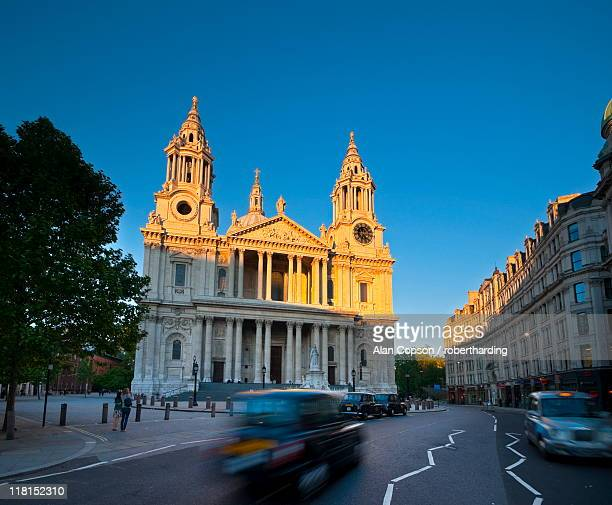 st. paul's cathedral, london, england, united kingdom, europe - alan copson stock pictures, royalty-free photos & images