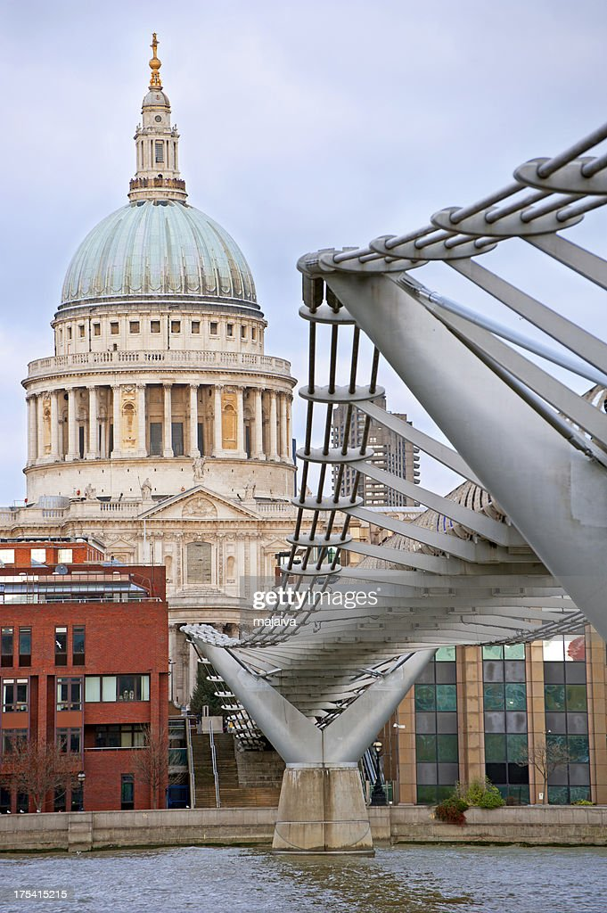 St Paul's cathedral, London : Stock Photo