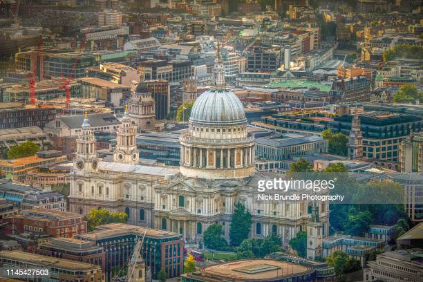 st pauls cathedral, london, uk - anglican stock pictures, royalty-free photos & images
