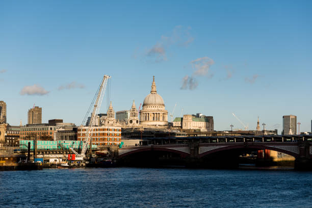St Paul's Cathedral, River Thames and London Skyline