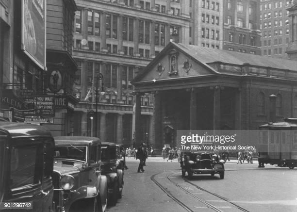 St Paul's Chapel, New York, New York, 1929.