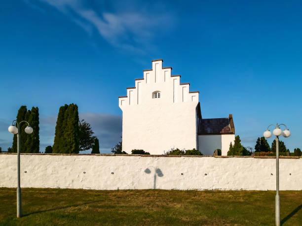 St. Paul's Church (Sankt Povls Kirke) built c. 1248, Bornholm island, Denmark