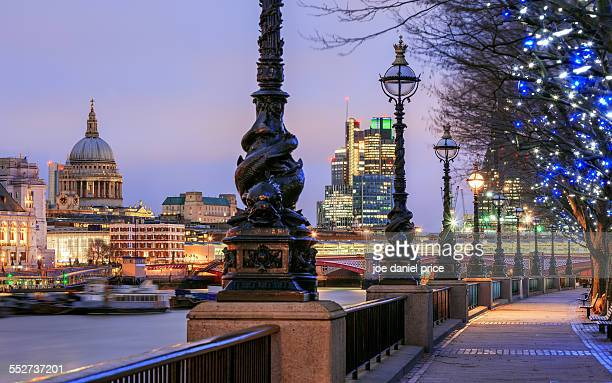 St Paul's from the Southbank, London, England