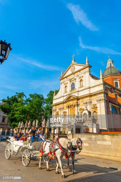 st. peter and st. paul church of krakow - syolacan stock pictures, royalty-free photos & images