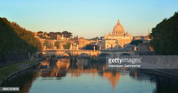 St Peter Basillica in morning light
