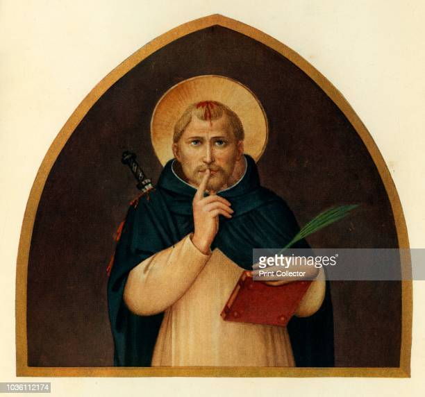 St. Peter the Martyr', 15th century, . Italian Early Renaissance painter Fra Angelico was a Dominican friar , and carried out commissions in...