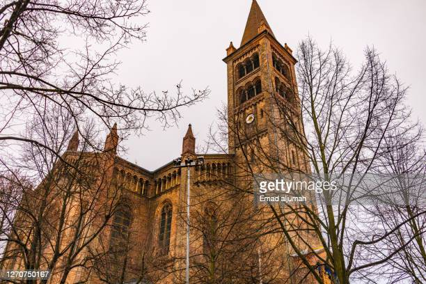 st. peter und paul kirche, potsdam, germany - kirche stock pictures, royalty-free photos & images