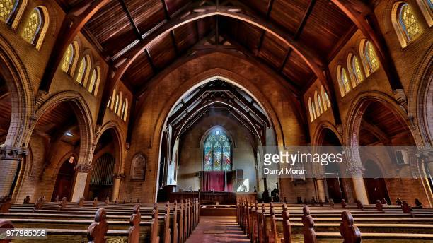 st peters abandoned church (7) - faith moran stock photos and pictures