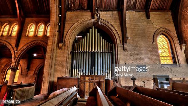 st peters abandoned church (13) - faith moran stock photos and pictures