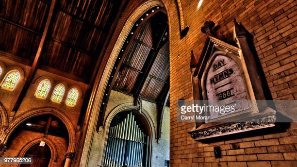 st peters abandoned church (15) - faith moran stock photos and pictures