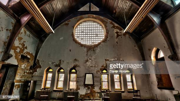 st peters abandoned church (20) - faith moran stock photos and pictures