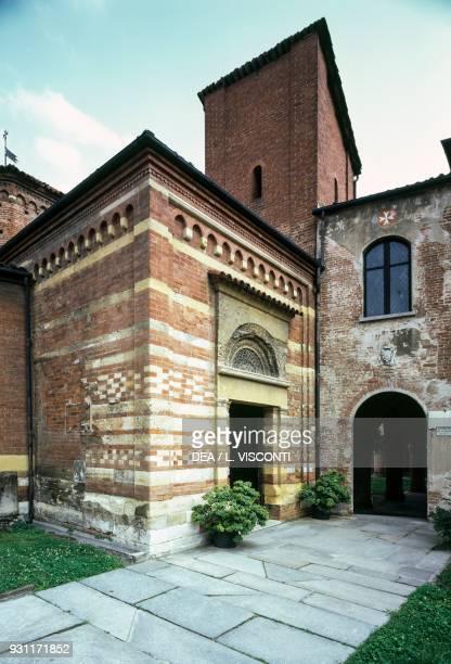 St Peter's baptistery Asti Piedmont Italy 12th15th century