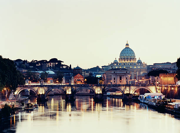 St Peter's Basilica and Ponte San't Angelo
