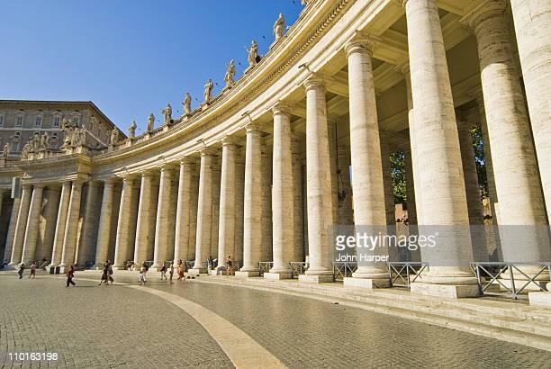 St. Peter's Basilica  Bernini Columns