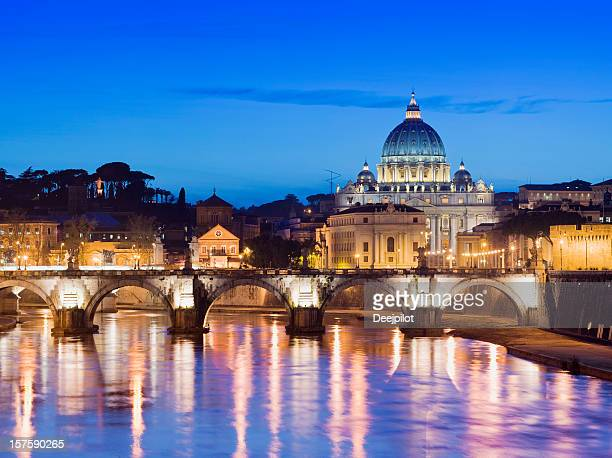 St Peters Basilica in Roma, Italia