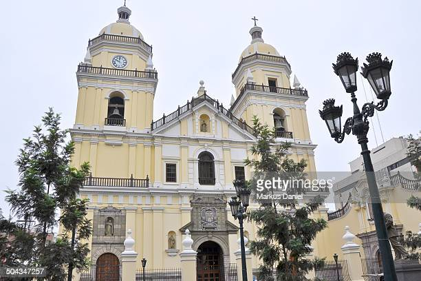 st. peter's church in lima, peru - markus daniel stock pictures, royalty-free photos & images