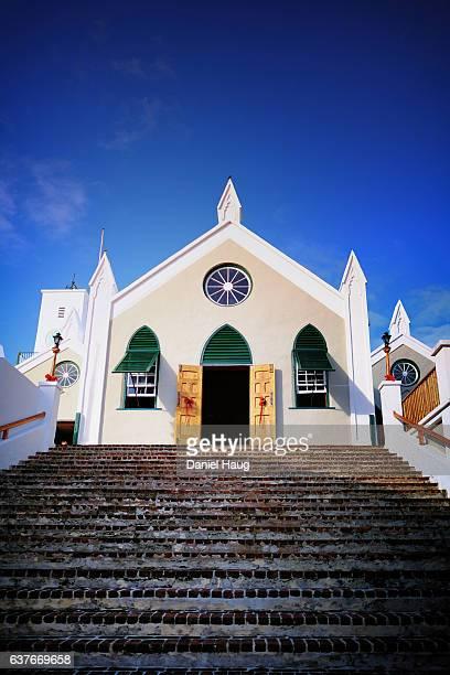 St. Peter's Church in St. George's Bermuda