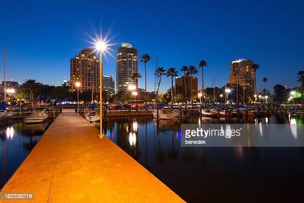 st. petersburg, florida, usa - st. petersburg florida stock pictures, royalty-free photos & images
