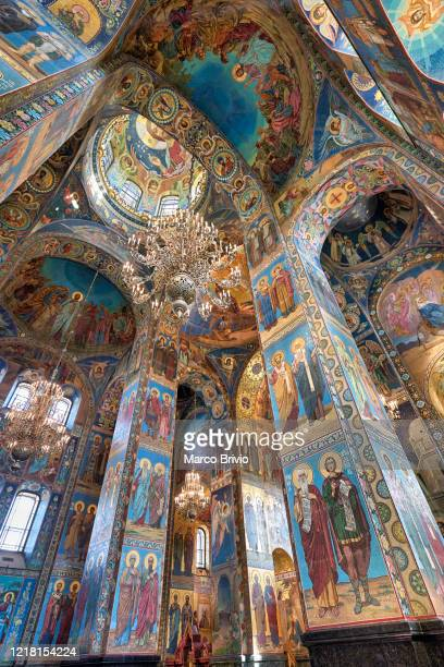 st. petersburg russia. the church of the savior on spilled blood - marco brivio stock pictures, royalty-free photos & images