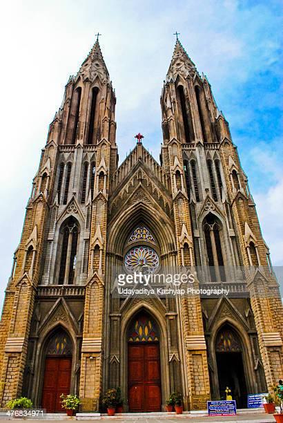 st. philomena church - mysore - fotografias e filmes do acervo