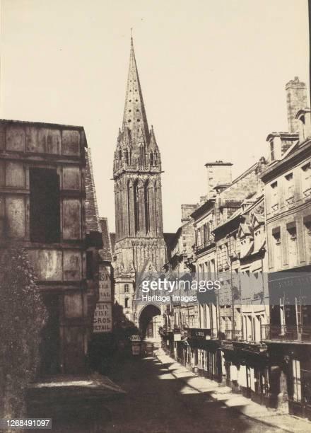St Pierre Caen 1850s Artist Unknown