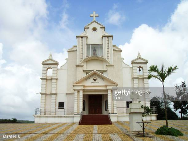st. roque chapel bandora - church stock pictures, royalty-free photos & images