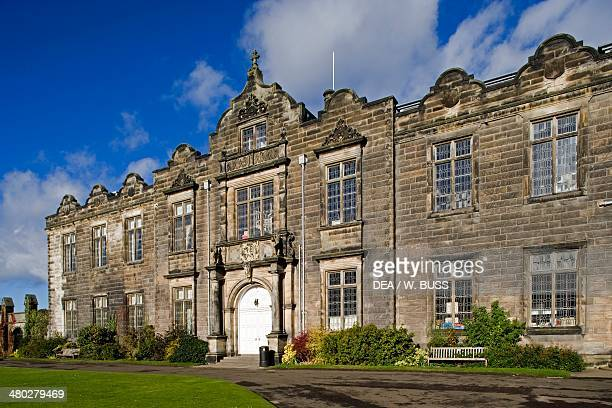 St Salvator's college, founded in 1450, the oldest college of the University of Saint Andrews, Scotland, United Kingdom.