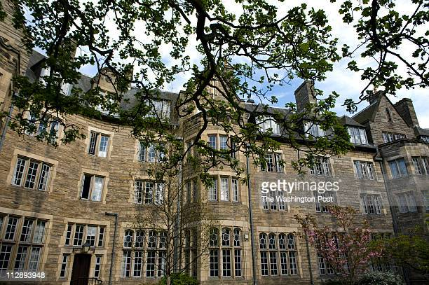 St. Salvator's dormatory, aka Sallies, where Prince William once lived while attending college at the University of St. Andrews in St. Andrews,...