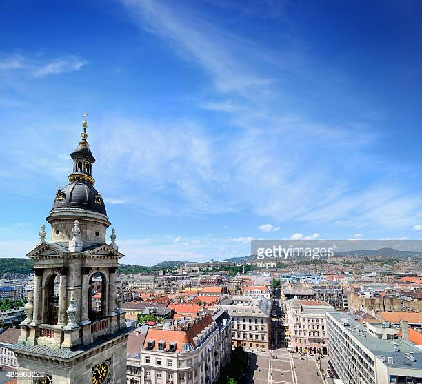 st. stephen basilica, budapest - basilica stock pictures, royalty-free photos & images