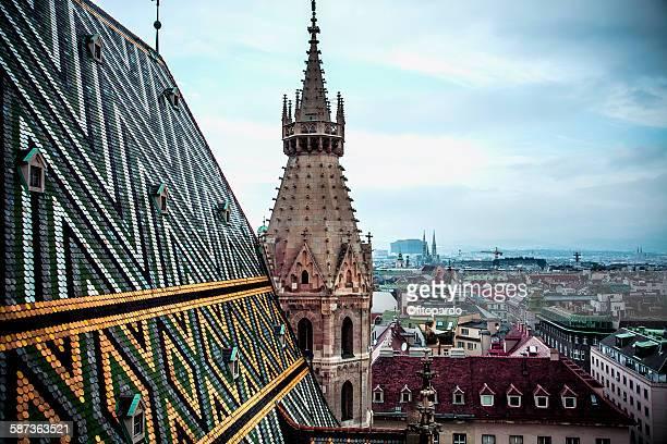 St. Stephen Cathedral overlooking Vienna