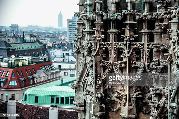 St. Stephen cathedral overlooking Vienna