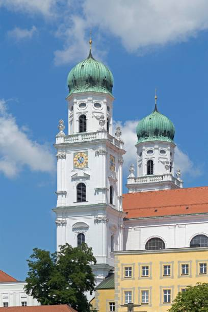 St. Stephen's Cathedral, Passau, Lower Bavaria, Bavaria, Germany