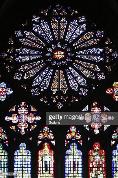 st. stephen's cathedral - bourges imagens e fotografias de stock