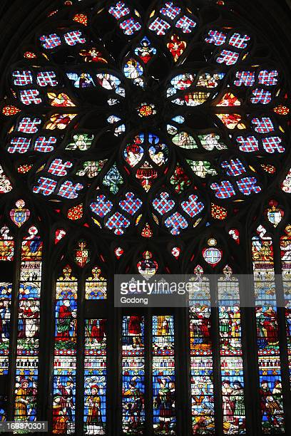 St Stephen's Cathedral rose window Last Judgment