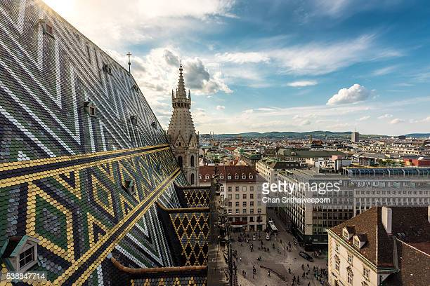 st. stephen's cathedral , vienna , austria - vienna austria stock pictures, royalty-free photos & images