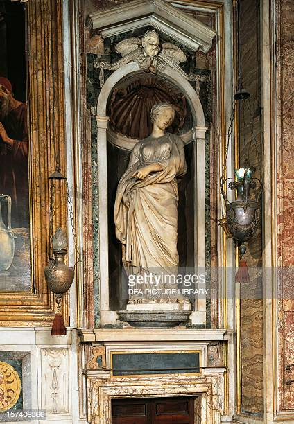St Suzanne marble sculpture by Francois Duquesnoy Church of St Mary of Loreto Rome Italy